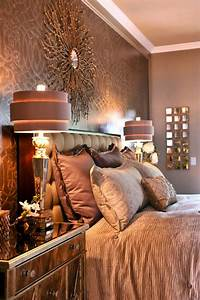 Chic, Decor, Wows, In, Brown, Master, Bedroom