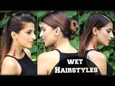 EASY Hairstyle For Indian Wedding Occasions For Medium To Long Hair/ Indian Party Heatless