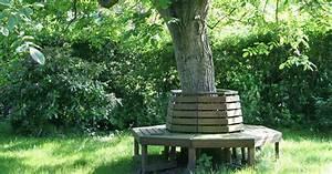 Gartengestaltung Unter Bäumen : baumbank sitzplatz unter b umen mein sch ner garten ~ Yasmunasinghe.com Haus und Dekorationen