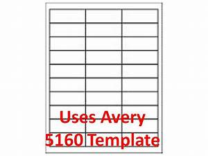 3000 laser ink jet labels 1quot x 2 5 8quot 30up address With avery com templates 8160