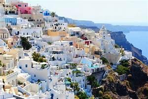 Free Photo Santorini Travel Holidays Free Image On