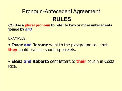 pronoun antecedent agreement  video