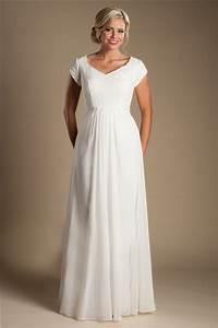 modest sheath sleeve lace chiffon destination beach With wedding dress without train
