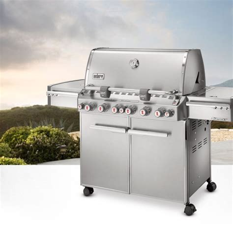 Summit S670 by Moveison Weber G 225 S Bbq Summit S670 Inox 6 Burners