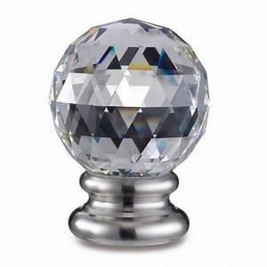 Boule De Rampe D Escalier : boule cristal fa onn e sur pied taraud m10 en inox satin boule de rampe ou boule de rampe d ~ Melissatoandfro.com Idées de Décoration