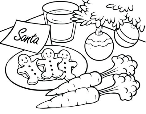 What if you left santa paper cookies this year? Cookie Coloring Pages - Best Coloring Pages For Kids