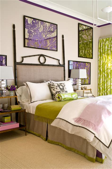 Color Inspiration  Purple, Green And Teal