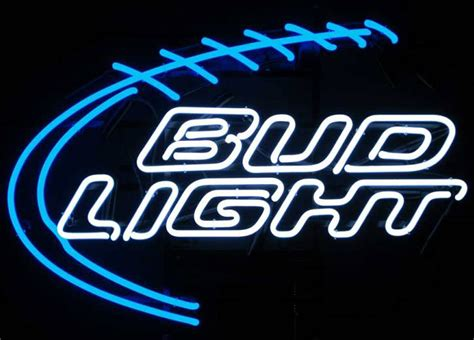 bud light neon sign bud light football neon sign by neonetics in neon signs