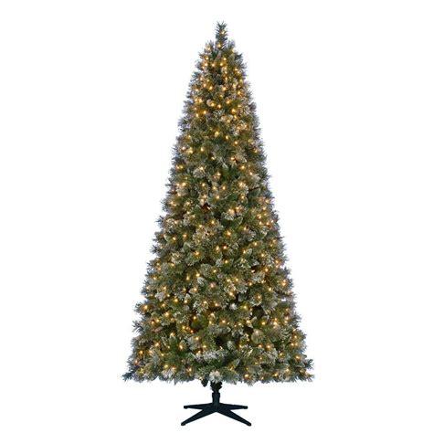 martha stewart living christmas lights martha stewart living 9 ft pre lit led sparkling pine