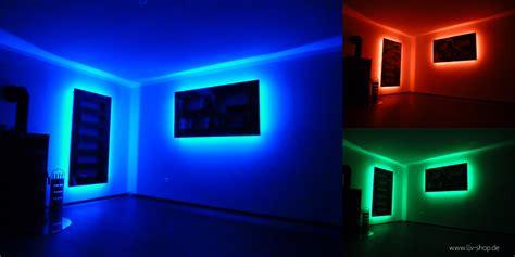 Led Ideen regalbeleuchtung mit rgb led strips und rgb