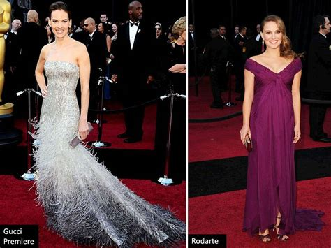 Natalie Portman In Off-the-shoulder Rodante Gown At 2011 Oscars