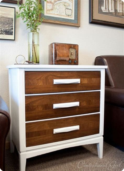 white  wood dresser furniture makeover dark wood