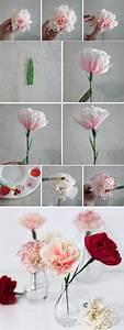 Papierblumen Aus Servietten : 1001 ideen wie sie papierblumen basteln k nnen basteln pinterest blumen papier und basteln ~ Yasmunasinghe.com Haus und Dekorationen