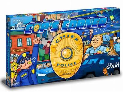 Board Corner Custom Cops Manufacturing Card Pieces