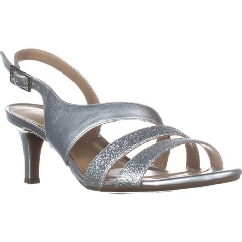 comfortable silver sandals naturalizer taimi comfort dress sandals silver 9 n us ebay