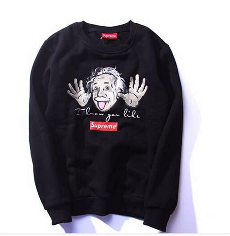 fashion supreme supreme sweatshirts casual hoodies brand clothing couples