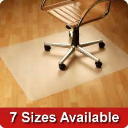 office chair mat wood floor protector pvc vinyl free computer mat ebay