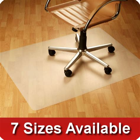 office chair mat wood floor protector pvc vinyl free