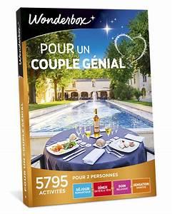 Cadeau Couple Anniversaire : coffret cadeau pour un couple g nial wonderbox ~ Teatrodelosmanantiales.com Idées de Décoration