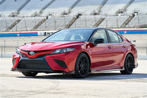 toyota camry trd  red hot  ready  roll carprousa