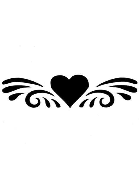 Free Simple Heart Tattoo Designs For Men, Download Free