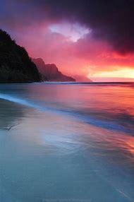 Kauai Hawaii Beaches Sunset