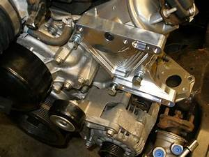 Speedway Alternator Relocation Bracket Install  A