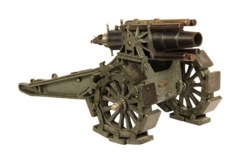 siege canon marklin wwi german siege howitzer model