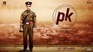 New Poster Of Pk  Aamir Khan Wears Police Officer Costume