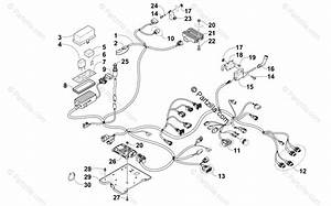 Arctic Cat Atv 2015 Oem Parts Diagram For Wiring Harness Assembly