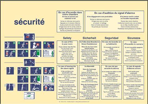 tarif chambre hotel hotel bd 4l panneau de consignes sécurité incendie