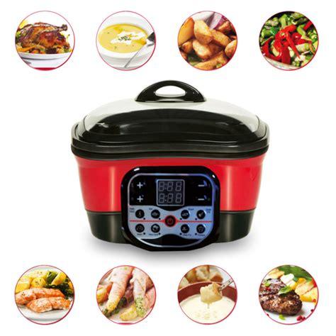 appareil pour cuisiner appareil de cuisson et de cuisine speed chef 8 en 1 digital