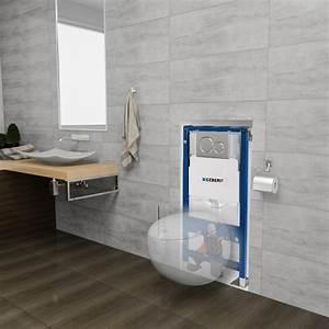 Wc Suspendu Inconvenient : pack wc complet suspendu geberit sous forme d 39 un uf ~ Melissatoandfro.com Idées de Décoration