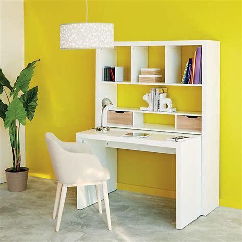 bureau avec etagere integree les 25 meilleures id 233 es concernant bureau modulable sur espaces de petit bureau