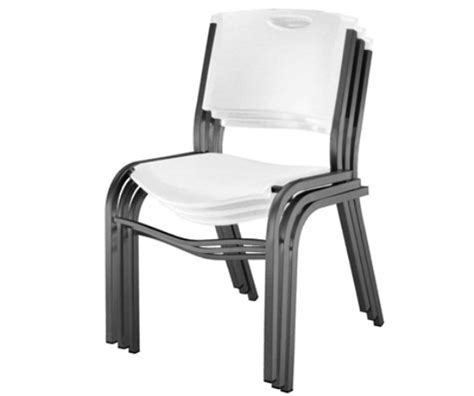 Lifetime Stacking Chairs White by Lifetime 80184 White Stacking Chair 14 Pack On Sale With