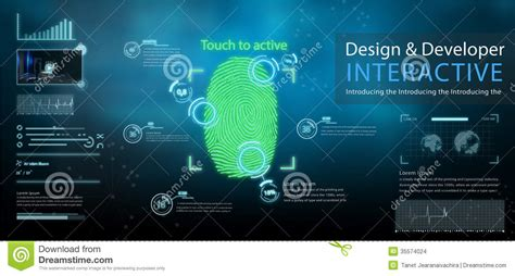 Touch Screen Animated Wallpapers - tecnology wallpaper stock images image 35574024