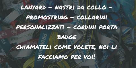 Laccetti Porta Badge by Laccetti Porta Badge Personalizzati Lanyard Porta Badge