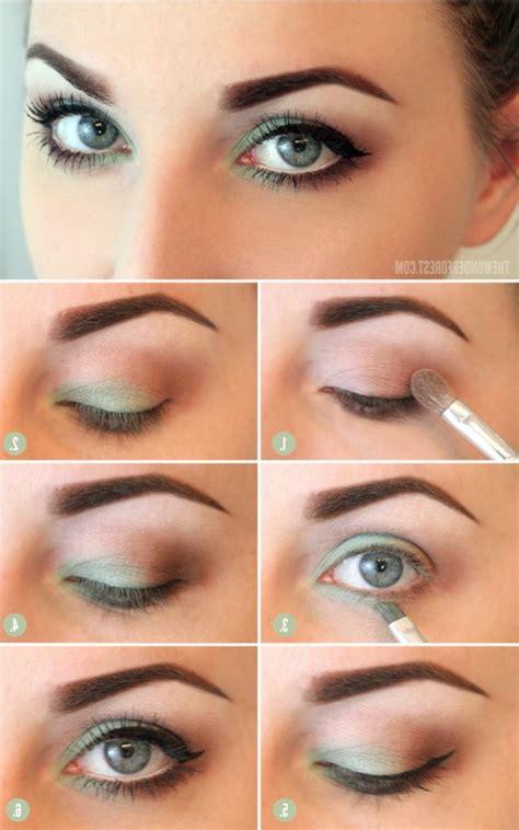 step  step makeup tutorials  blue eyes