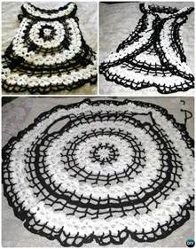Circular Vest Crochet Pattern Sweater