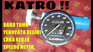 Speedo Meter Vixion Old