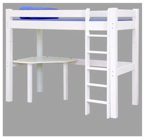 lit mezzanine avec bureau pas cher