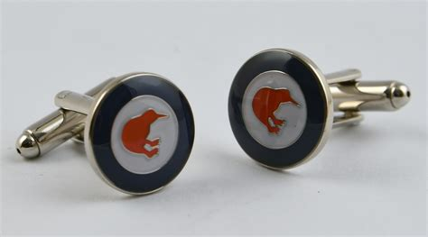 roundel cufflinks air force museum