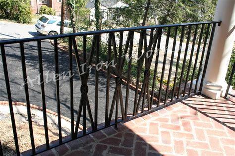exterior railings birmingham al allen iron works