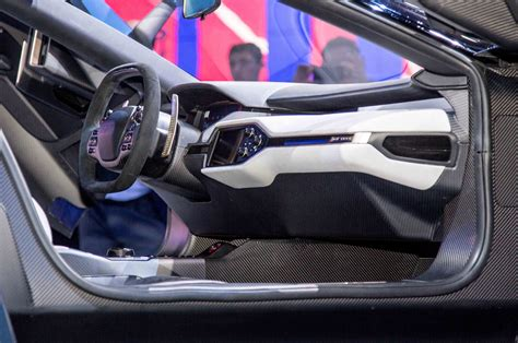 ford supercar interior all new ford gt supercar debuts in detroit