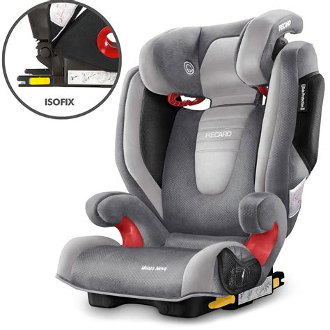 recaro si鑒e auto recaro monza 2 seatfix isofix child children 39 s car seat 3 12 years ebay