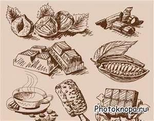 Шаблон фотошоп шоколад аленка
