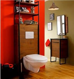 peindre des toilettes ciabizcom With wc suspendu couleur gris 9 le meuble wc archzine fr
