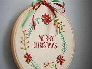10, Free, Christmas, Hand, Embroidery, Patterns