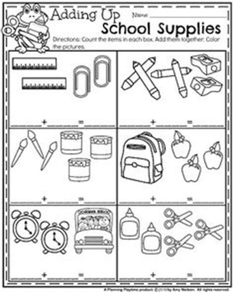 school objects worksheet for kindergarten back to school kindergarten worksheets kindergarten math