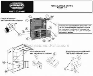 Knaack 119 Parts List And Diagram   Ereplacementparts Com